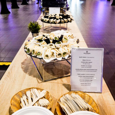 aws summit catering